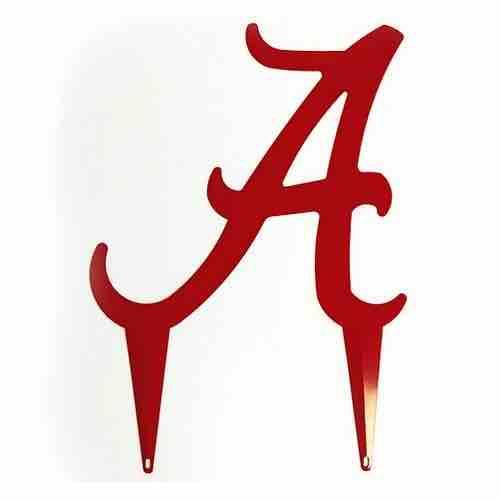University of Alabama Logo Yard Art